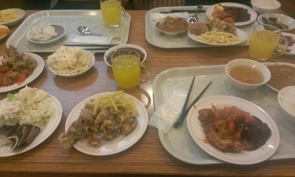 亀の井ホテルの夕食
